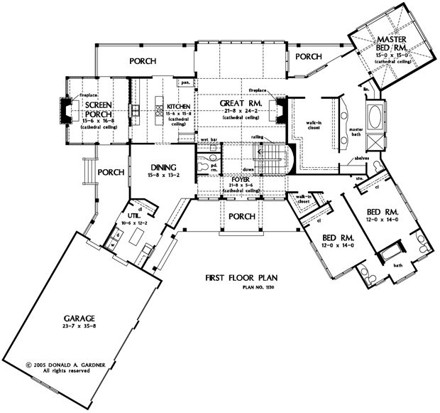 Blue Ridge House Plan