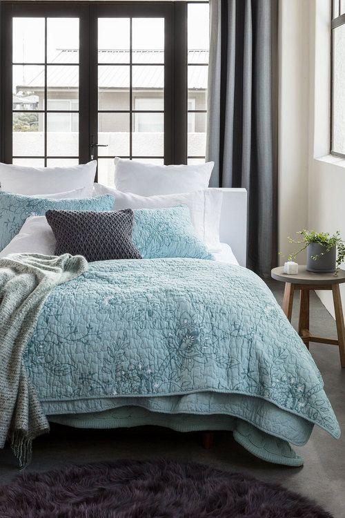 Halcyon Quilt Set Online | Shop EziBuy