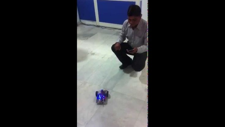 Wireless Robot Control from mobile