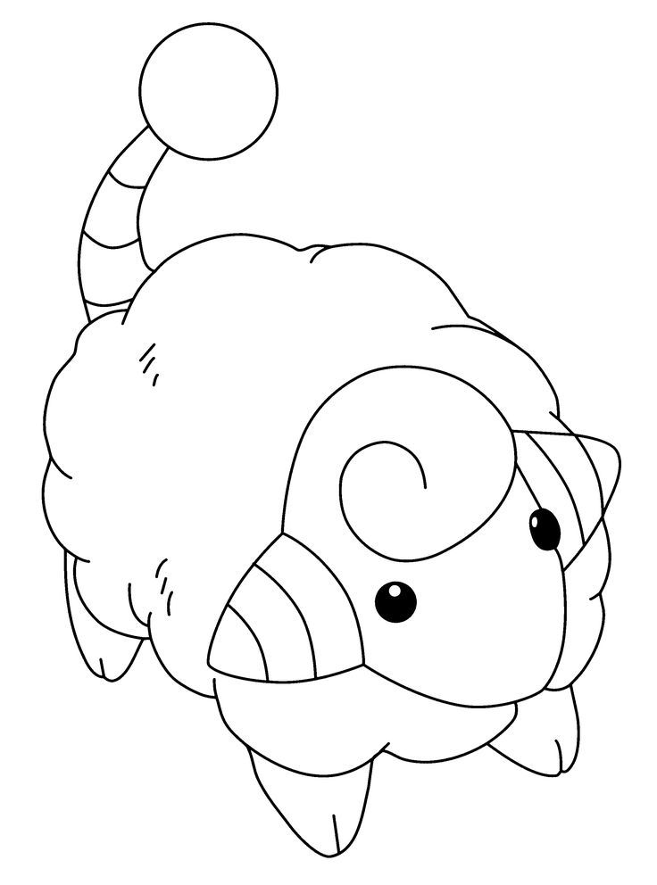 Genius Pokemon coloring pages