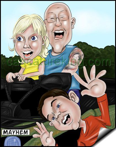 This caricature captures a moment a camera could not. See more fun http://www.caricatureking.com  #art #family #funcaricatures (@caricatures) | Twitter