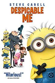 Despicable Me (Voices by Steve Carell, Russell Brand, Jason Segel, Julie Andrews)