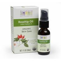 Aura Cacia Skin Care Essential Oil - Organic Rosehip 1 oz