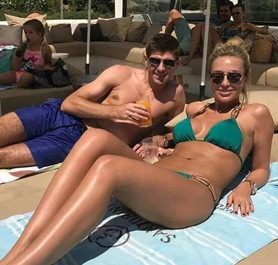 Steven Gerrard s manželkou