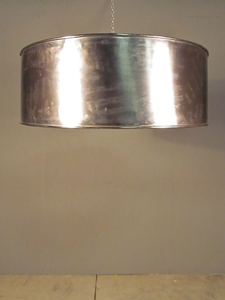 "32"" round metal light - add brightness + allure with this fantastic light"