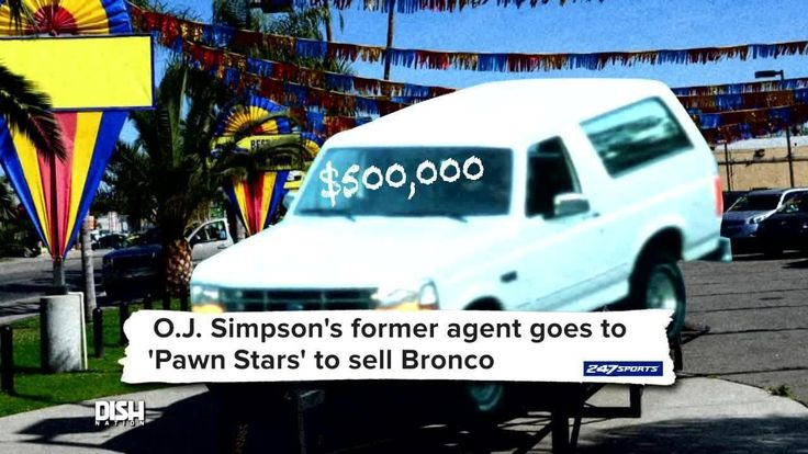 A Piece Of The Juice's #History Is About To Be Loose!: Want to let loose like the Juice? Now, you can! OJ Simpson's infamous Ford Bronco is…
