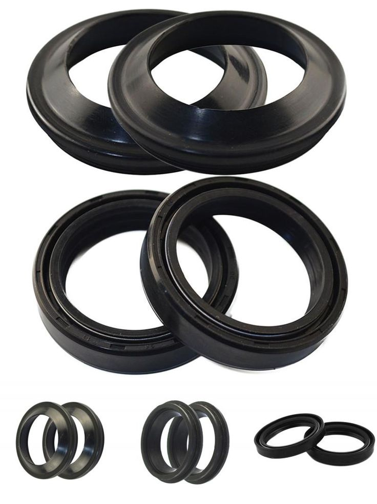 [Visit to Buy] 43*55*11 Motorcycle Parts Front Fork Dust Seal And Oil Seal For Yamaha YZF-R1 2002-2008 YZF-R6 1999-2010 Damper Shock Absorber #Advertisement