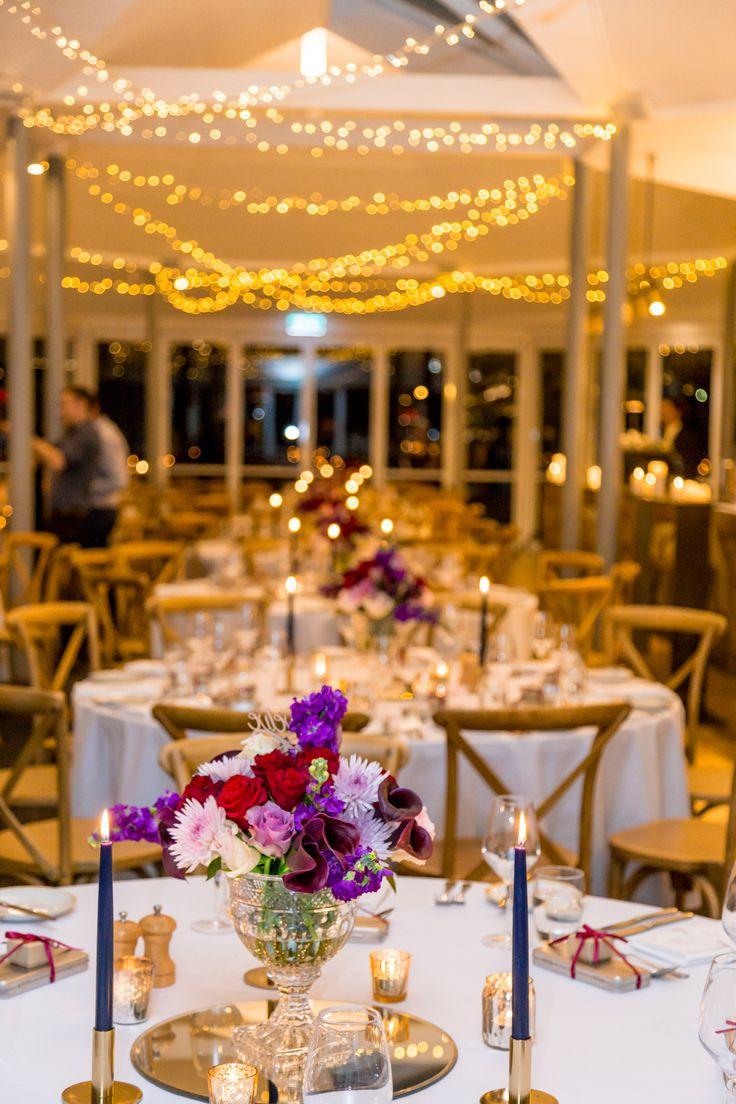Wedding Wisteria Room //  Round table setup
