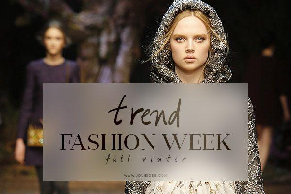 Moda Autunno Inverno 2014-15 – Fashion Week Trend #moda #fashion #fallwinter #fashionweek #trend #musthave
