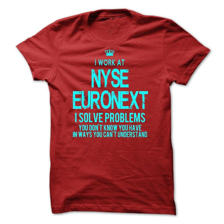 (Greatest Low cost) I Work At NYSE Euronext - I Solve Problems - Order Now...