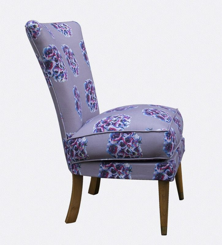 Bedroom Chair - English Garden Cocktail Chair - OccipintiOccipinti