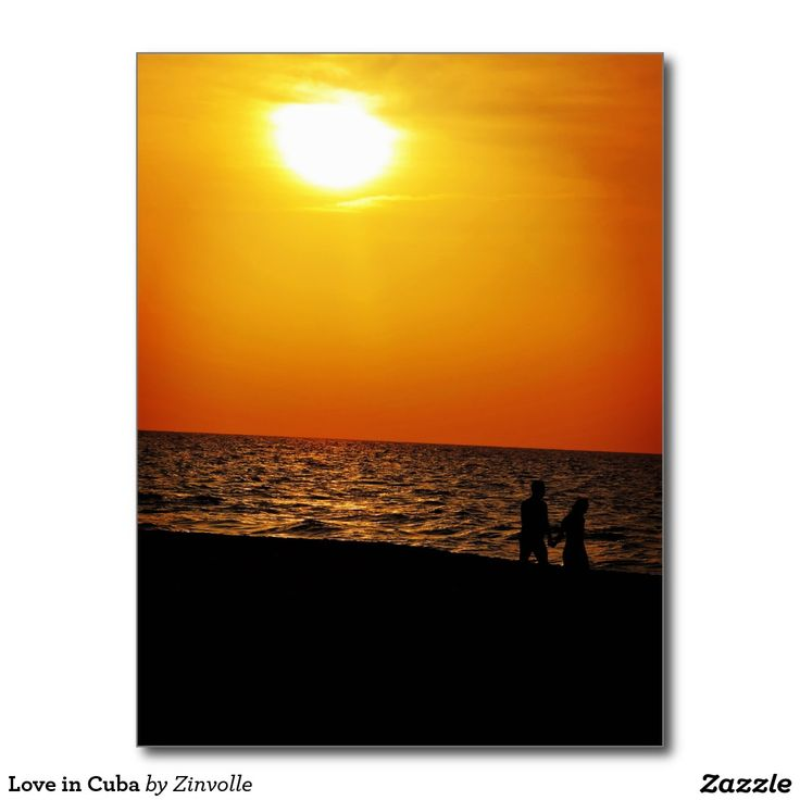 Love in Cuba Postcard