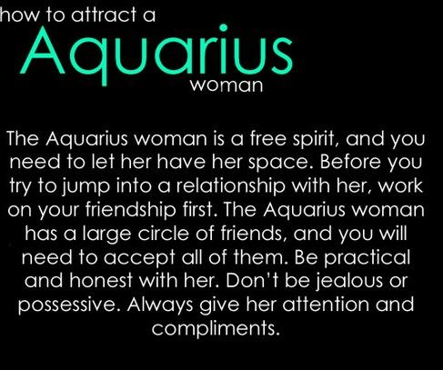 aquarius man dating aquarius woman The aquarius female often puts friendship before love find out what it's like to date an aquarius woman.