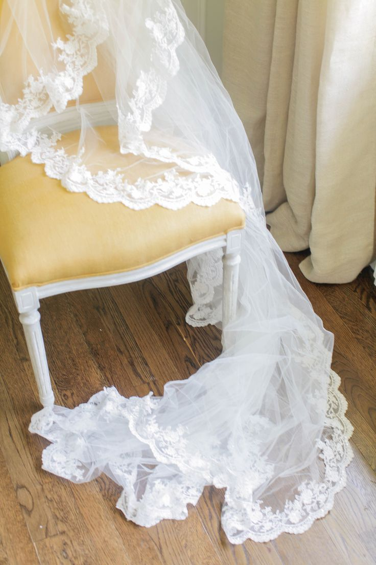 Read More on SMP: http://www.stylemepretty.com/2013/09/18/diy-lace-veil/