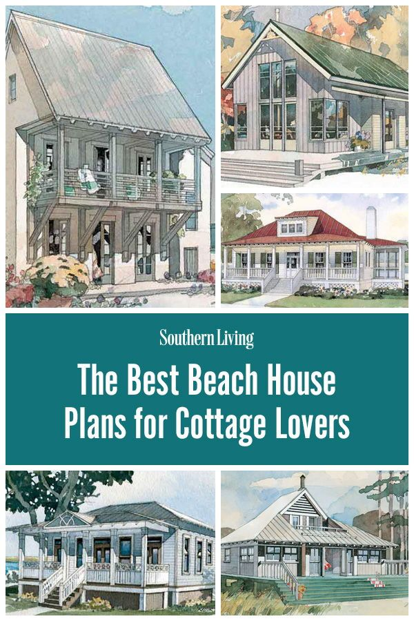 Our Best Beach House Plans For Cottage Lovers Beach Cottage House Plans Beach House Plans Beach Cottage Style