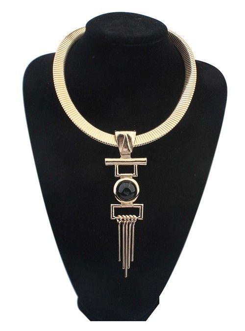 """De statement ketting """"Egyptian Dream"""" is een echt eye catcher om je hals en spiced je look meteen een stuk op! - €8,95 • Lana's Sieraden"""