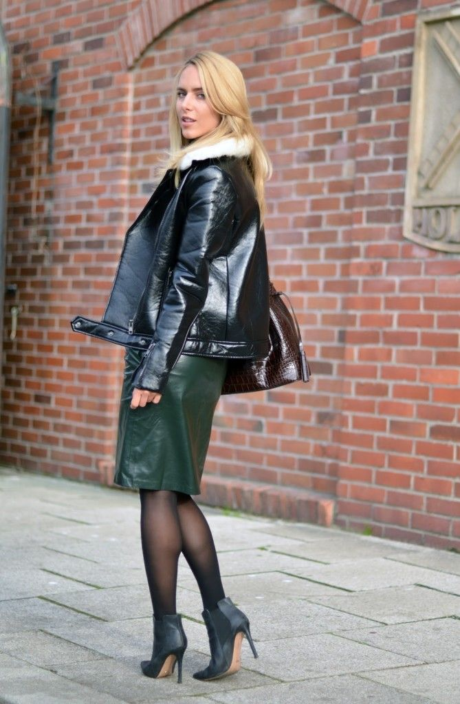 www.streetstyleci… Fashion inspired by the people in the street Patent Leather… – Street Style City
