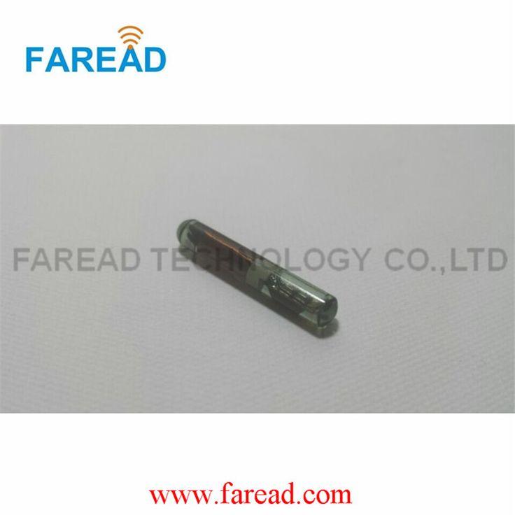 EM4100/EM4102/EM4200 1.4*8mm ID RFID tag vidrio Microchip para idetification