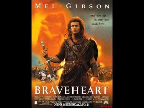"""BSO Braveheart música:""""For the Love of a Princess (From """"Braveheart"""")"""", de James Horner (años 90)"""
