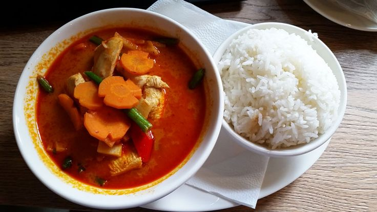 My favourite Red Thai Curry served at Modry Zub.