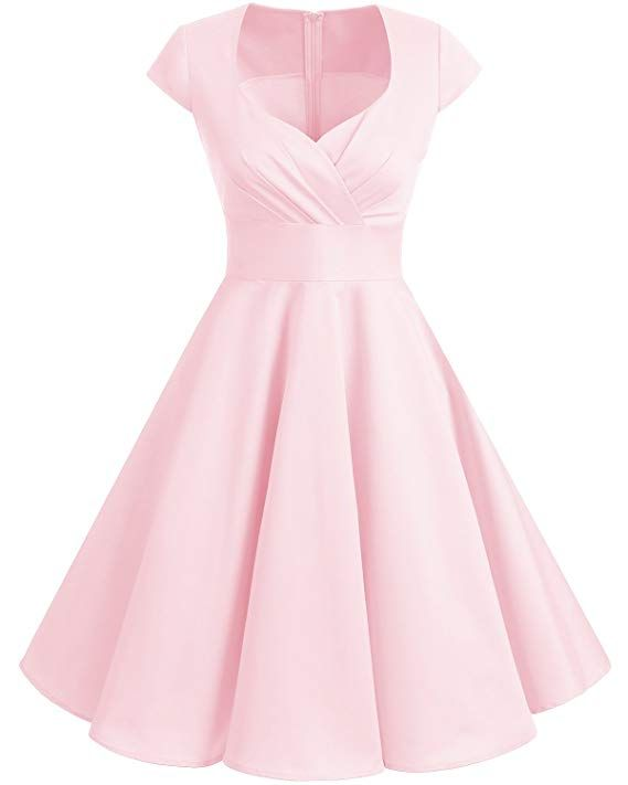 39c878af5f7  18.99 -  29.99 Bbonlinedress Women Short 1950s Retro Vintage Cocktail Party  Swing Dresses Ginger S at Amazon Women s Clothing store