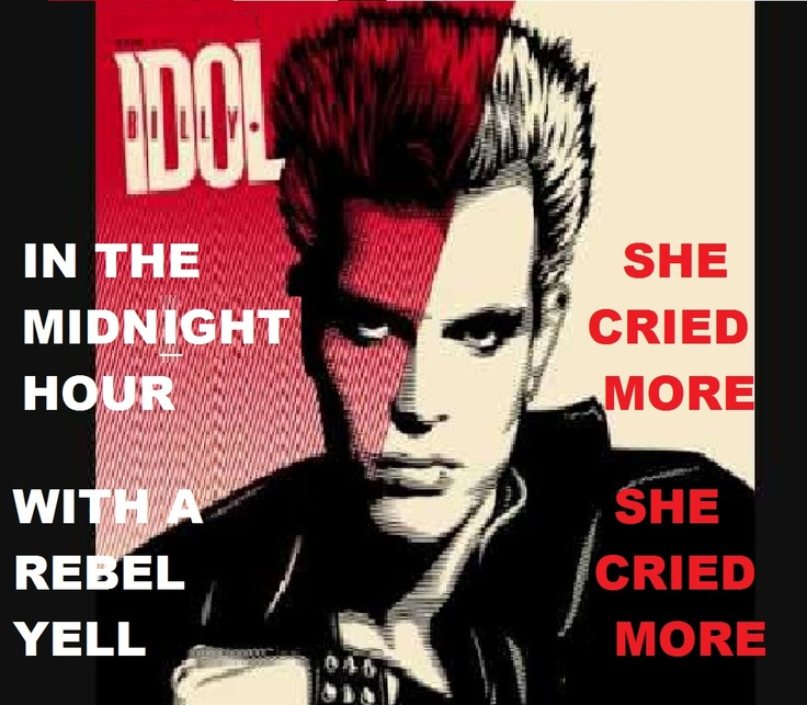 Billy Idol White Wedding Lyrics: 17+ Best Ideas About Billy Idol Rebel Yell On Pinterest