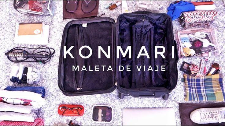 Cómo hacer la maleta y que quepa TODO | Método KonMari | Por Marie Kondo