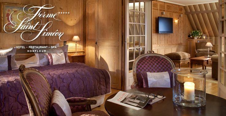 SITE OFFICIEL - Hotel Honfleur : La Ferme Saint-Simeon est un Hotel SPA de charme à Honfleur en Normandie près de Deauville Trouville