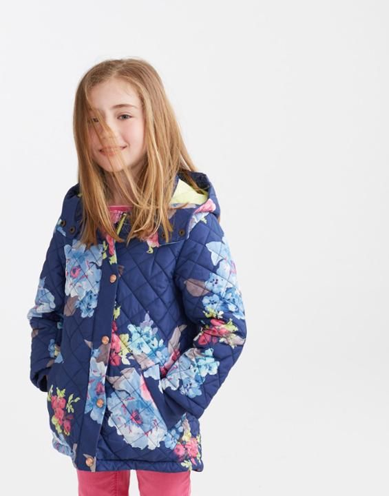 Marcotte Quilted Coat - Perfect for heading back to school in style