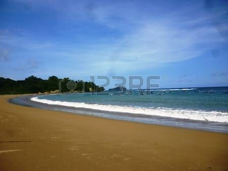 Tamban beach located in Malang, East Java, Indonesia