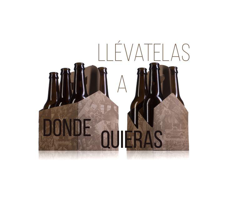 Estuches para #botellines de #cerveza. juvasa.com