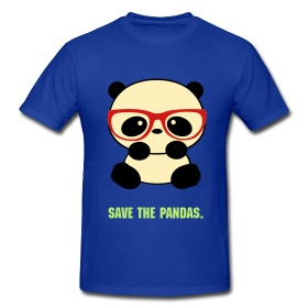 Say it with style - Save the Panda tee