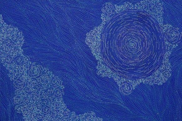 Ancestors by Sarrita King - Japingka Aboriginal Art