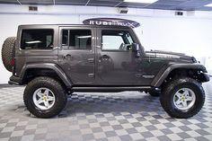 2016 Jeep Wrangler Rubicon Unlimited Granite Crystal Metallic