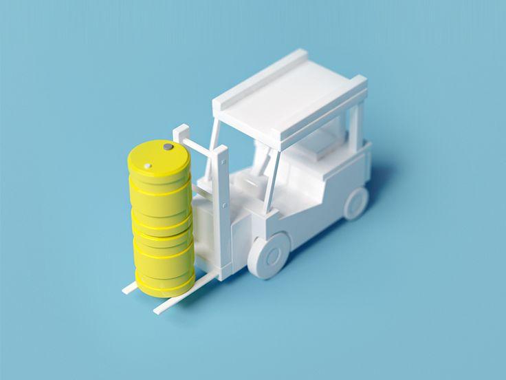 Car low poly by Leonid Nikolaev