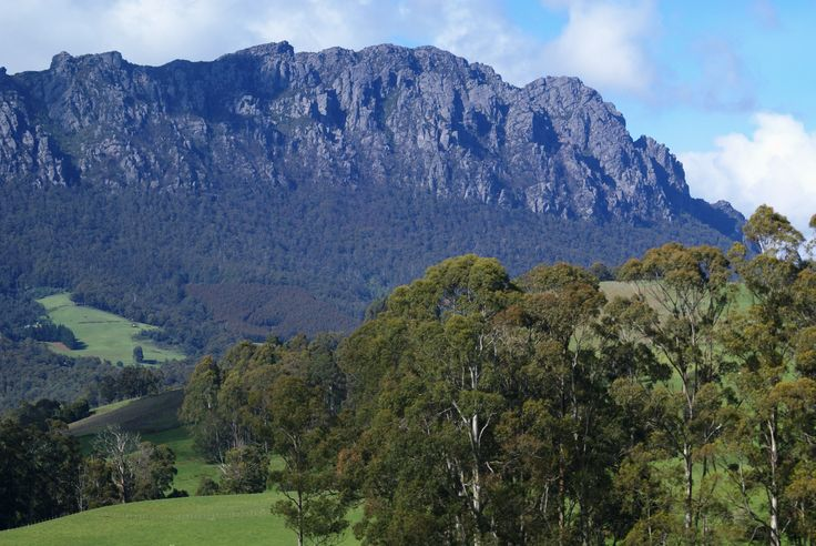 Mount Roland near Sheffield, Tasmania; Image by Margaret Hage, sony DSLR.  Magic scenery always in love with Tasmania, resistance is useless!