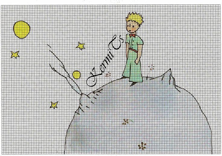 cross stitch The Little Prince