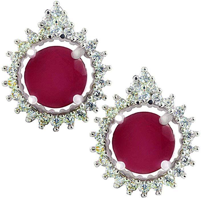 SuperShineGems ~For Women Fashion Earring Cz Cubic Zirconia Stones Earring.