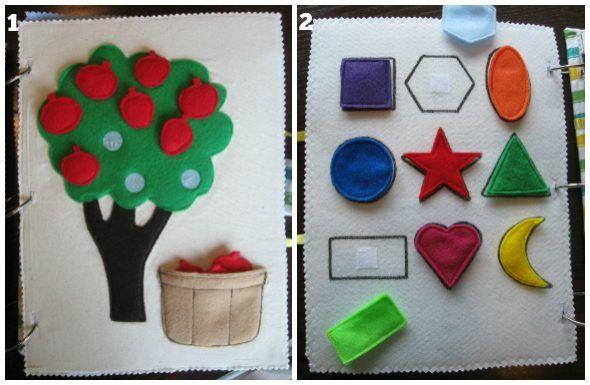Silent books per bambini Montessori: cosa sono e come possono essere realizzati a casa con stoffa, feltro, bottoni, nastri e cerniere. Oppure ordinali qui!
