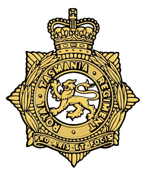Royal Tasmanian Regiment.
