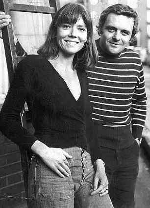 Young Anthony Hopkins and Diana Rig