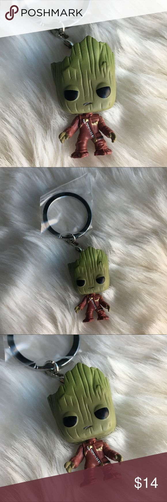 Baby Groot Keychain Brand new keychain- toddler Groot from Marvel's Guardians of the Galaxy 2 Guardians of the Galaxy Accessories