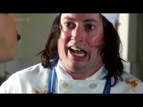 """Mitchell and Webb spoof Kitchen Nightmares // """"All you've done is boast and demonstrate the fact that any fool knew already that you're better... than me"""" XD"""