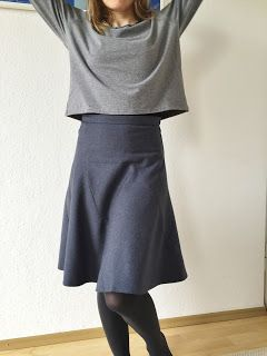 One-cut skirt from Fashionstyle 9/15   – nähen