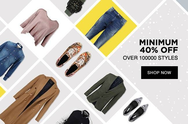 jabong offers: minimum 40 % off on accessories
