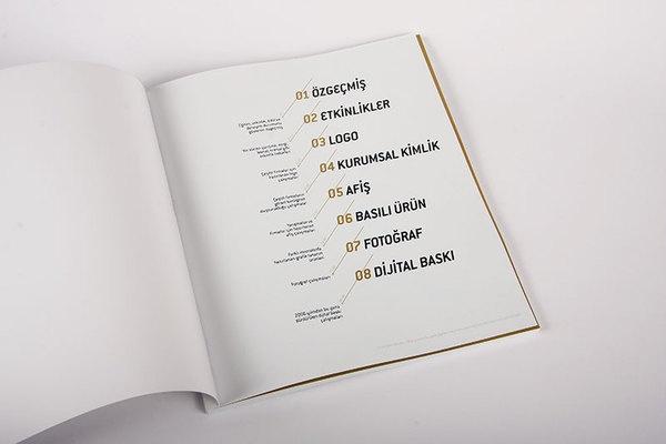 Portfolio Book by Murat Ertürk, via Behance