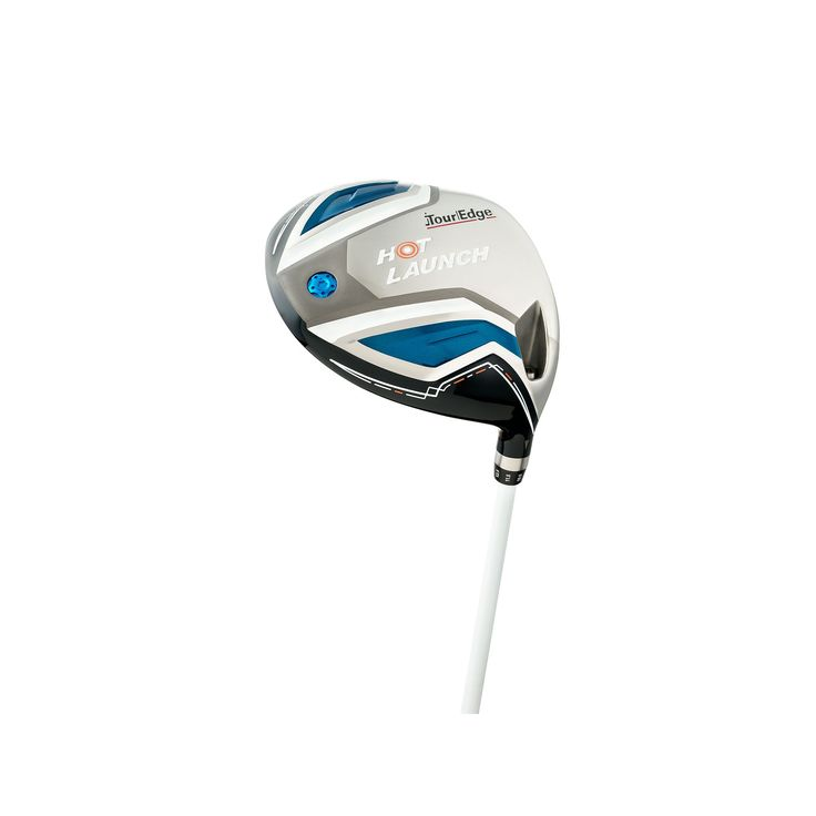 Senior Tour Edge Golf Hot Launch Right Hand Draw Driver, Silver