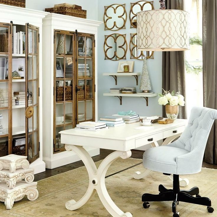 70+ Creative Home Office Design Ideas To Increase Your Productivity. Office  Paint ColorsHome ...