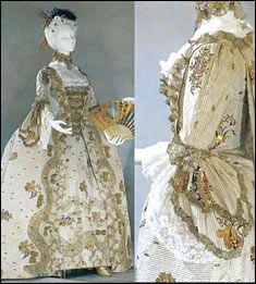 Эпоха рококо - костюм и мода. Франция. Женский костюм // Профессиональная школа-студия гримёров Аллы Чури