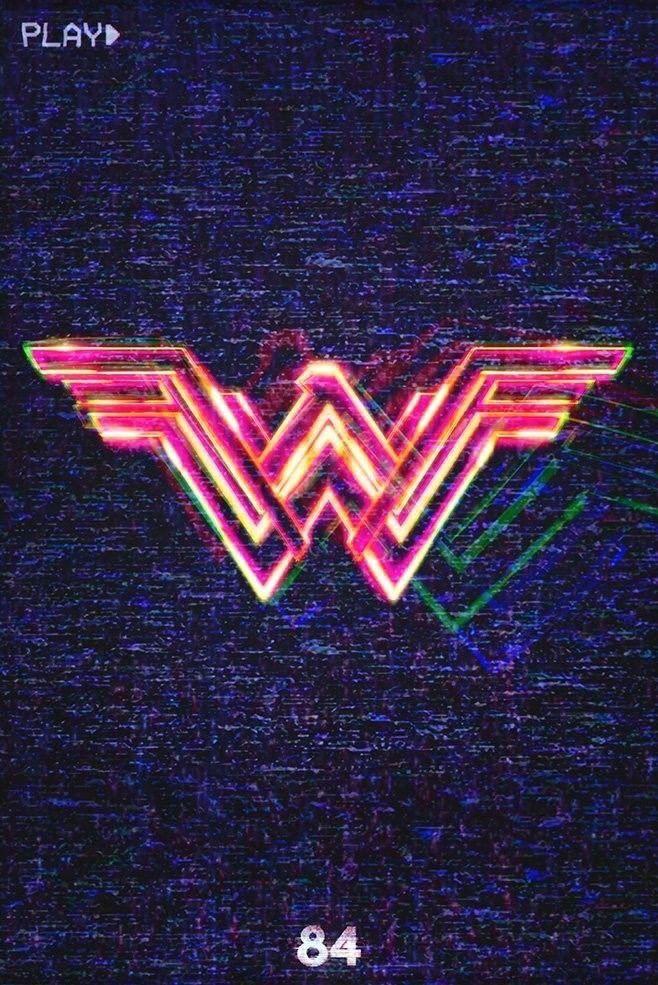 Wonder Woman 1984 2020 Poster Film Fotografi Pemandangan